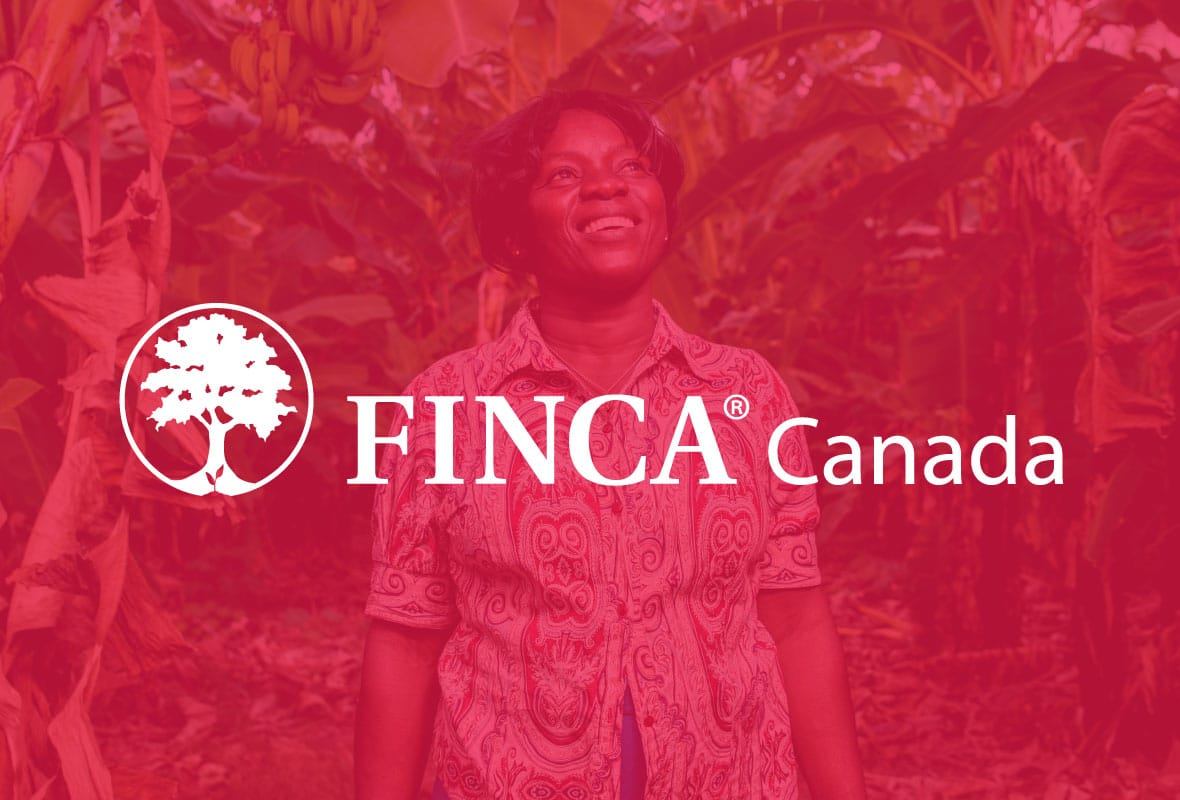 FINCA Canada #oppHERtunity | Campaign Microsite