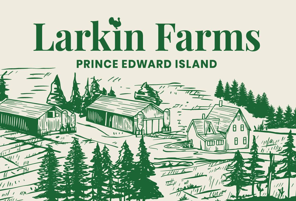 Larkin Farms   Branding, Packaging + Website